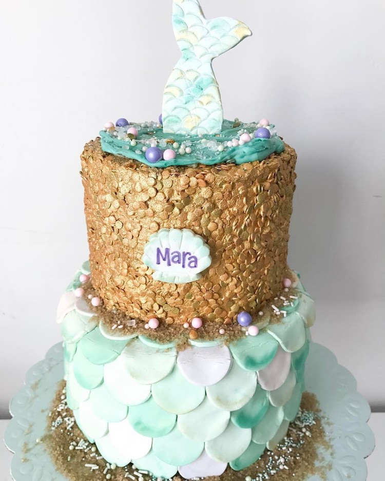 Enchanting Mermaid Cake is a Tasty Riff on Under the Sea