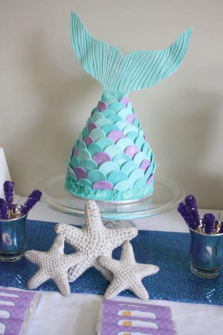 Mermaid Cake Ideas