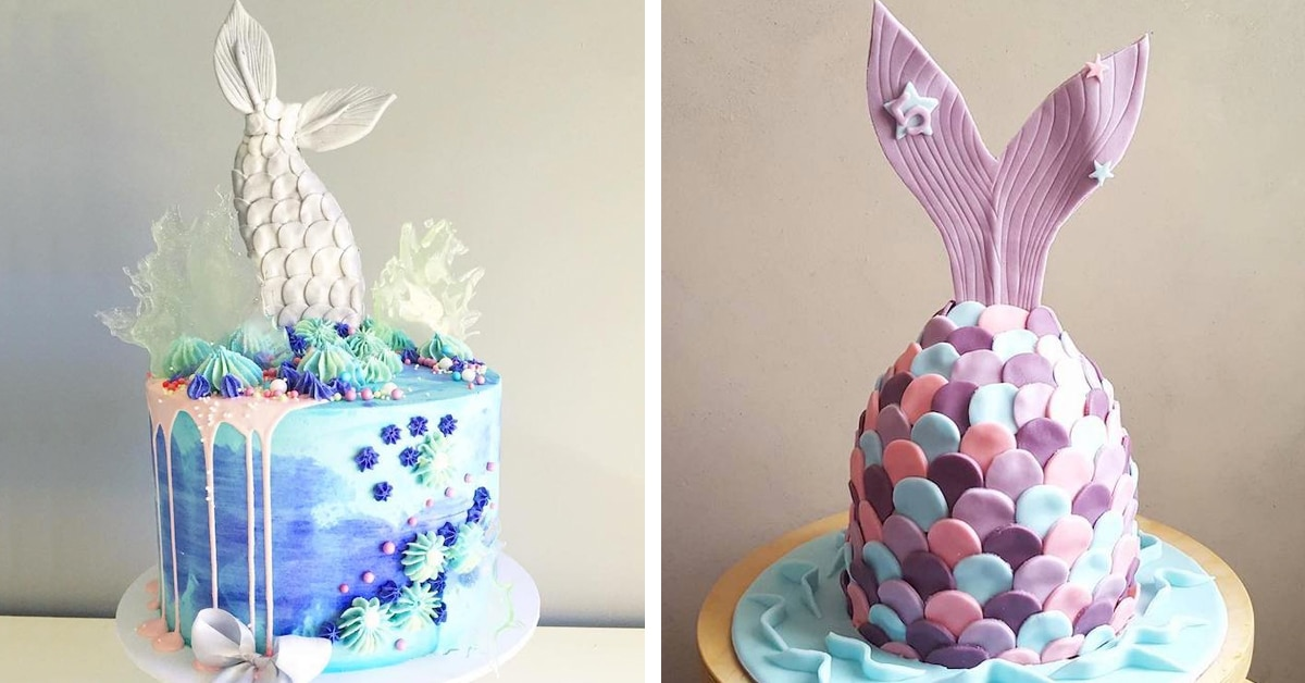 Enchanting Mermaid Cake Is A Tasty Riff On Under The Sea