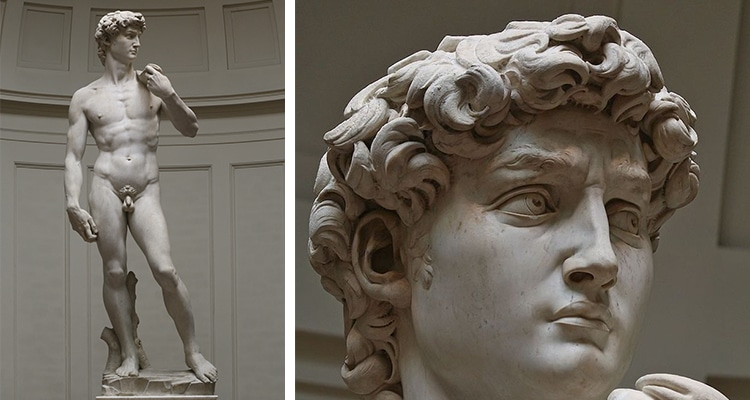 Michelangelo's David Sculpture