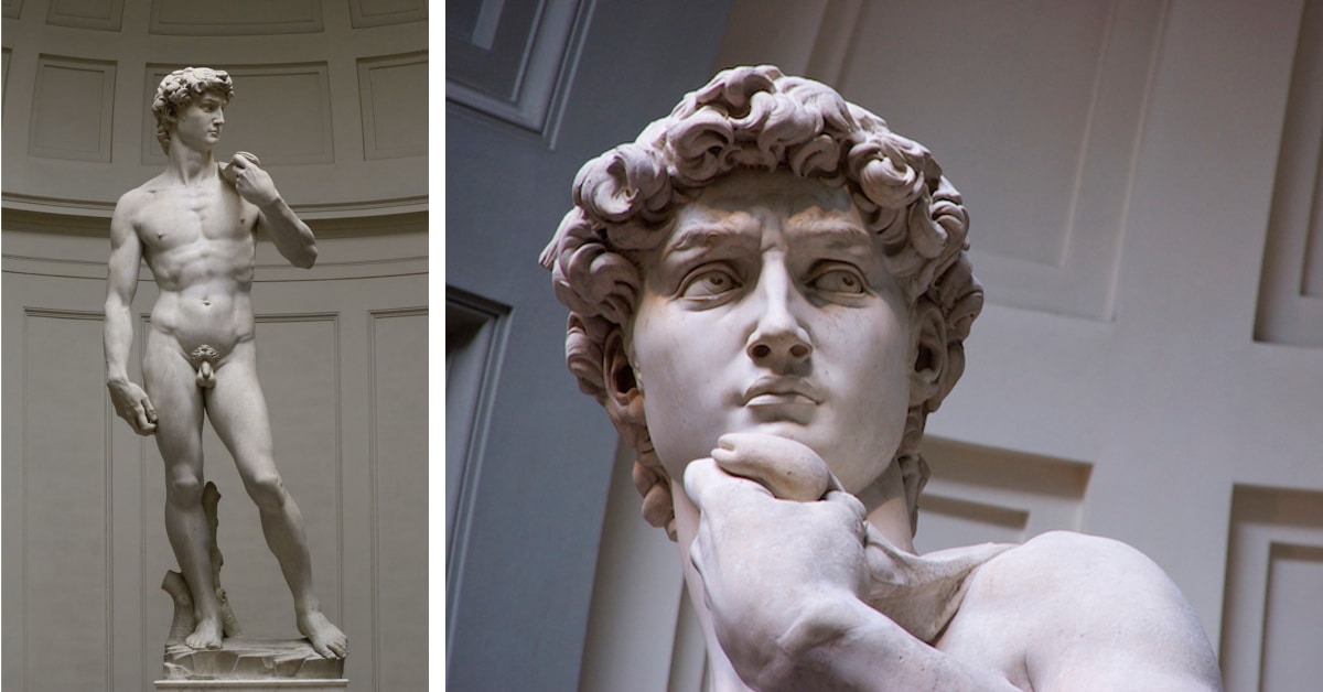 Can not michelangelo s david same... all
