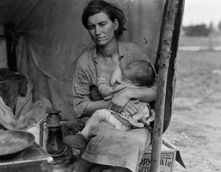 Dorothea Lange Migrant Mother Dorothea Lange Photos of the Great Depression