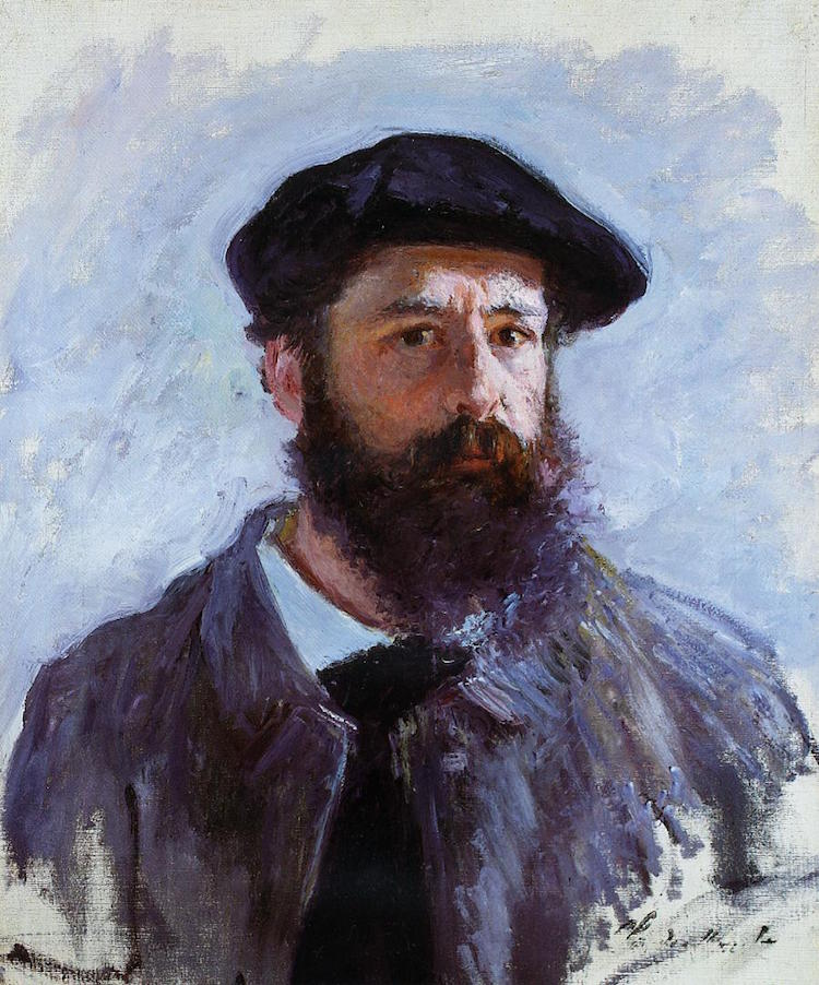 Monet Self-portrait with a Beret