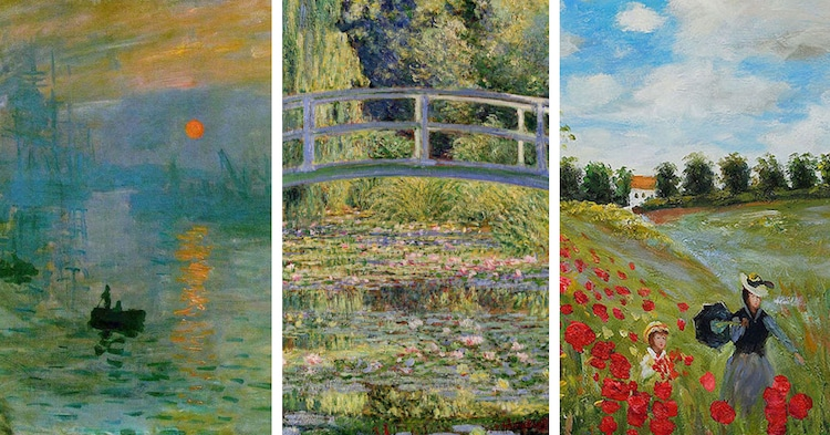 Claude monet paintings showcase artist 39 s impact on for Monet paintings images