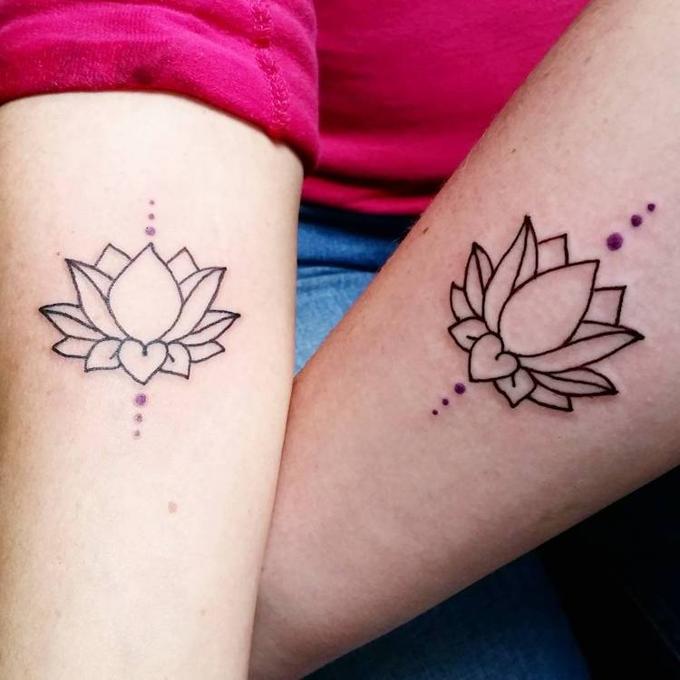 30 mother daughter tattoos that celebrate a special life for Tattoos for mother