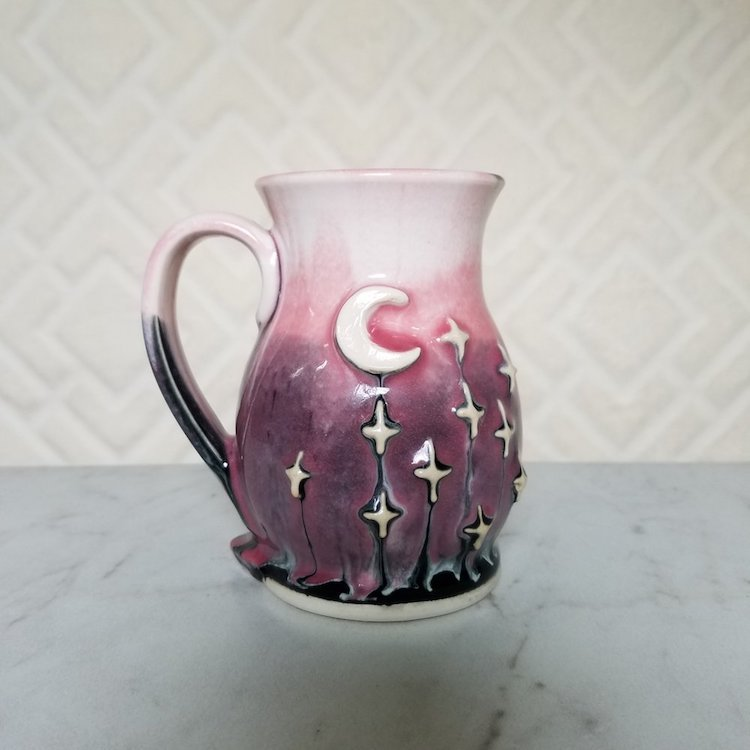 Galaxy Inspired Clay Pottery Is A Stellar Way To Enjoy