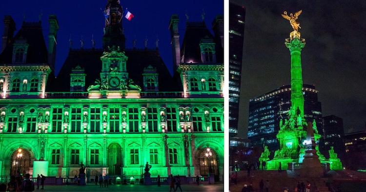 Green Landmarks Paris Agreement Trump Climate Change