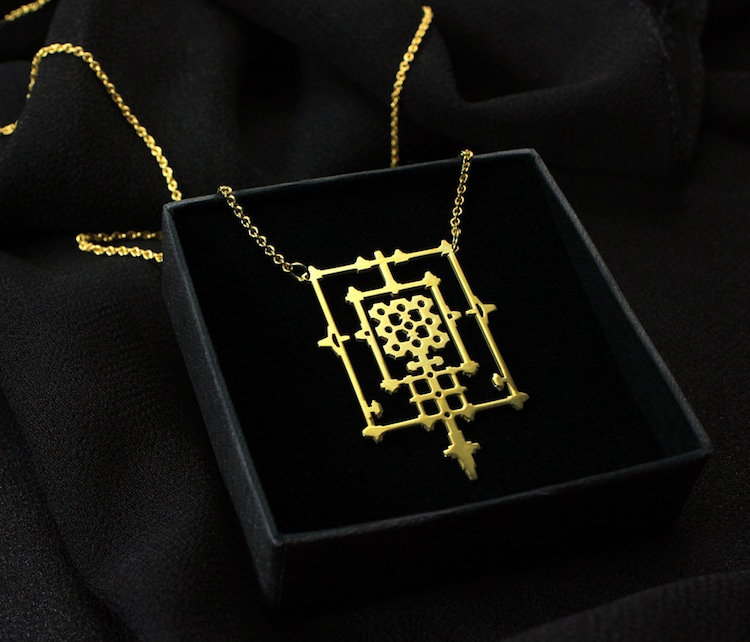 jewelry inspired by architecture
