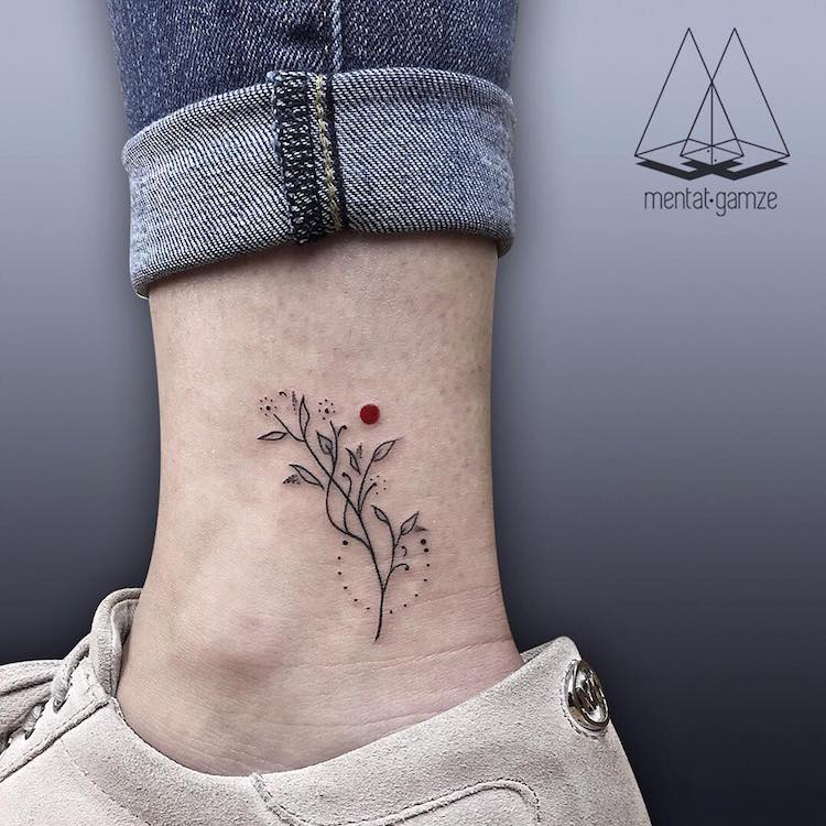Red Dot Tattoos by Mentat Gamze