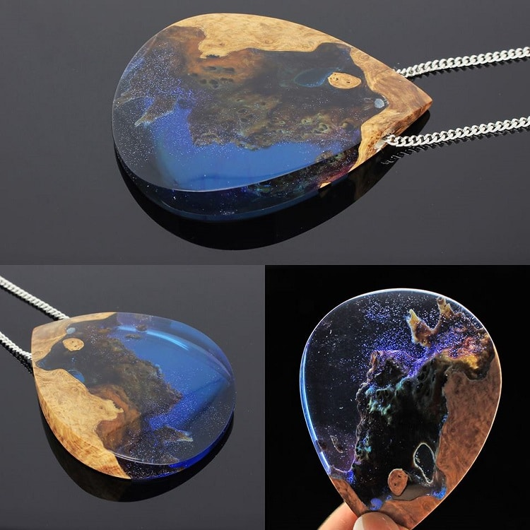 ... Resin Partners Home Design Products Wood And Resin Jewelry Encapsulates  The Spectacular Beauty Of Earth ...