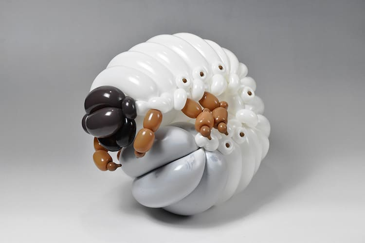Sculptural Balloon Animals Masayoshi Matsumoto
