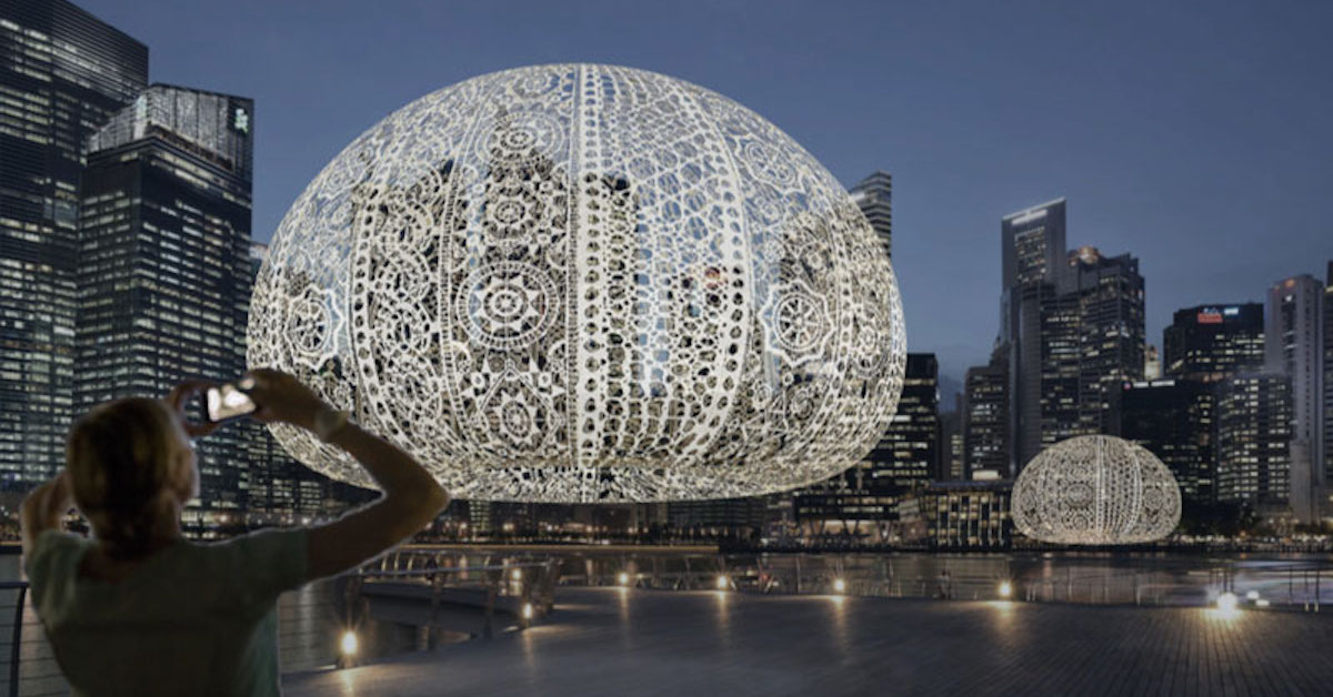 Sea Urchins Interactive Art Choi Shine Architects