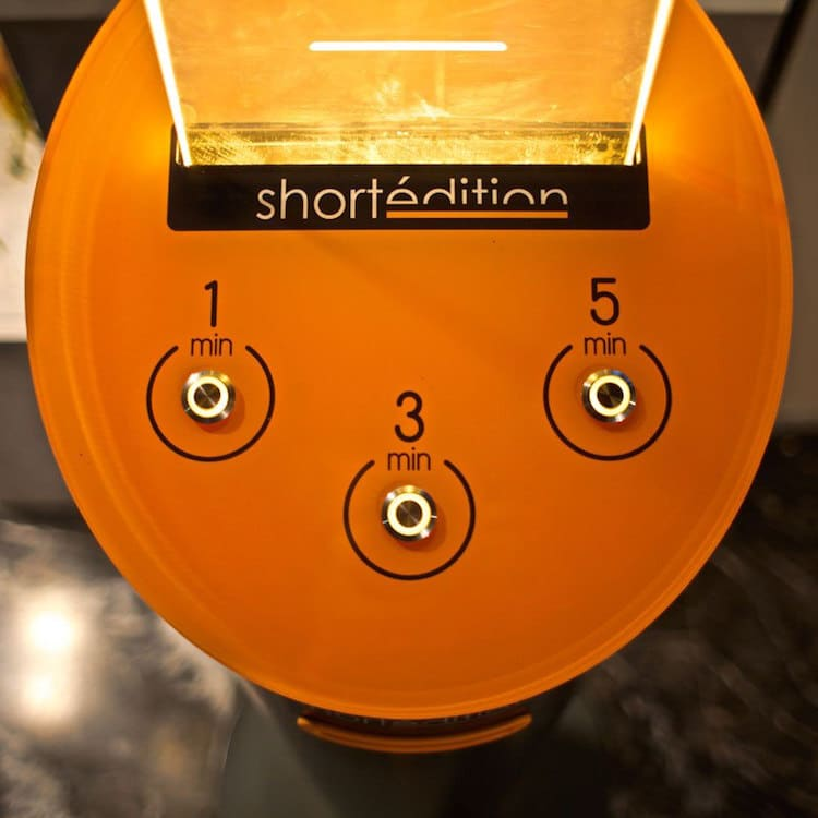 Short Édition Vending Machines Short Stories