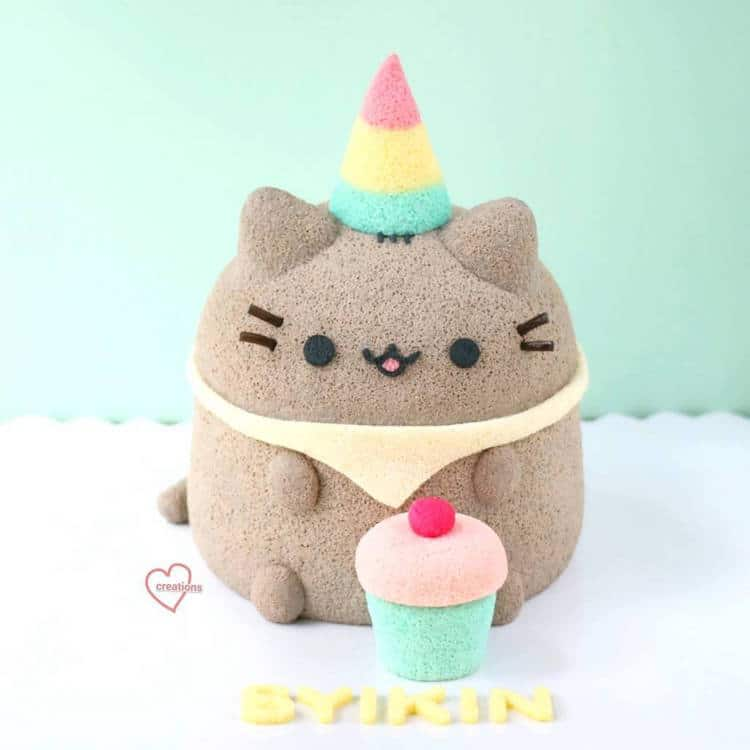 Stuffed Animal Cakes Fluffy Cake Cute Cakes Chiffon Cake Susanne Ng