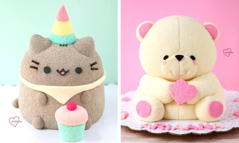 modern stuffed animals - animal cakes archives my modern met
