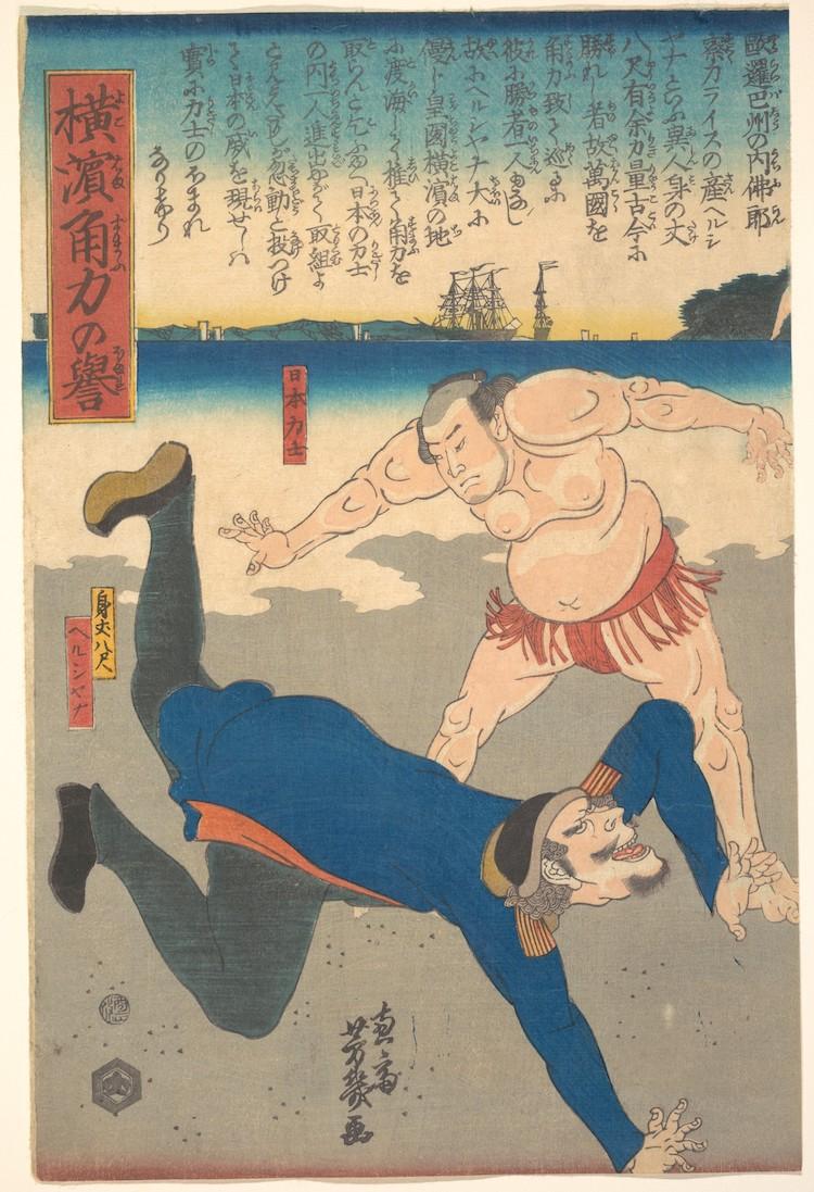 japanese woodblock met museum