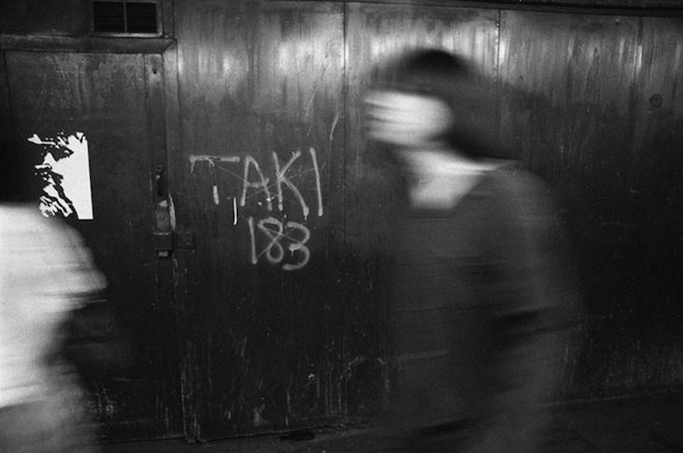 TAKI 183 graffiti art