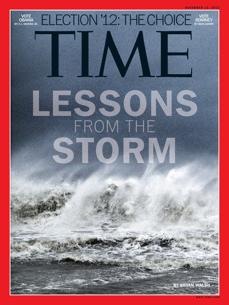 hurricane sandy benjamin lowy TIME cover