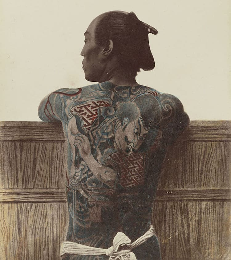Traditional Japanese Tattoo History Irezumi Tadori