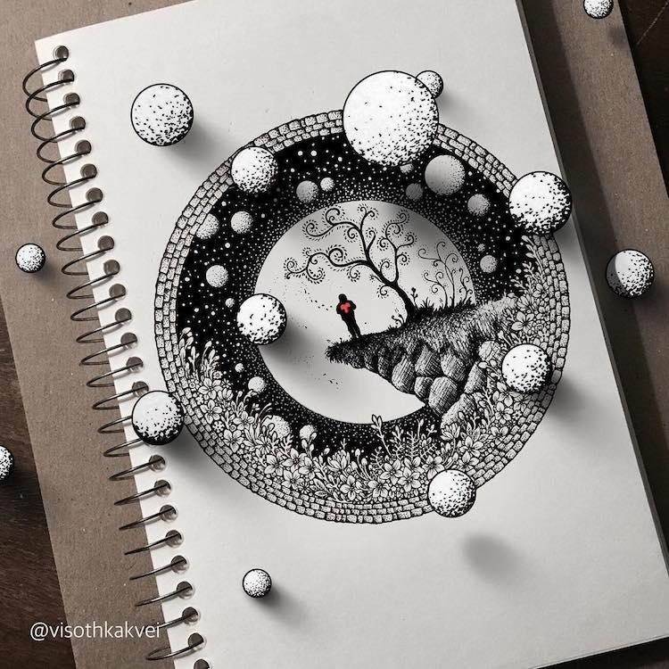 Visothkakvei dibujos chidos