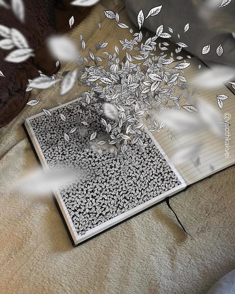 Visothkakvei Optical Illusion Drawings