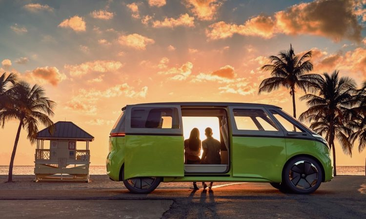 VW ID Buzz Concept - Electric Microbus
