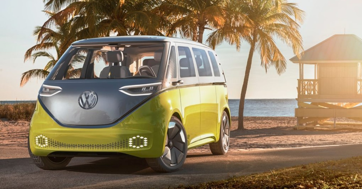 volkswagen confirms that the id buzz will go into production