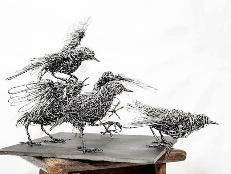 Wire Sculpture Wire Art Wire Animals