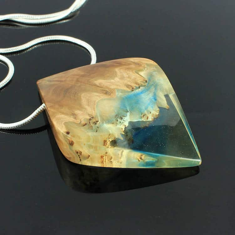 Wood and Resin Jewelry