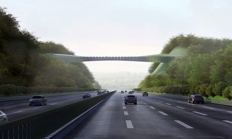 yangjaegogae eco bridge