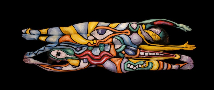 Andy Golub - Body Painting