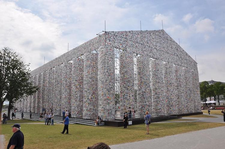 Marta Minujin - Parthenon of Books - Documenta 14