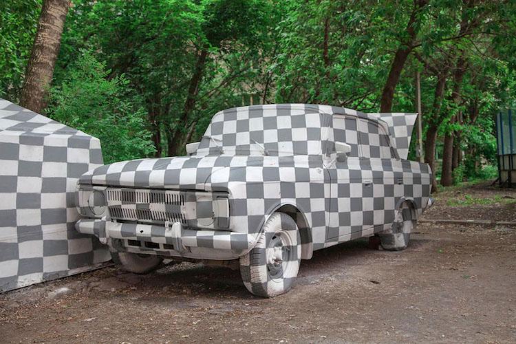 Amazing Street Art Illusions at the Stenograffia Festival