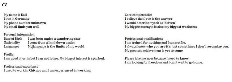 Autocomplete CV