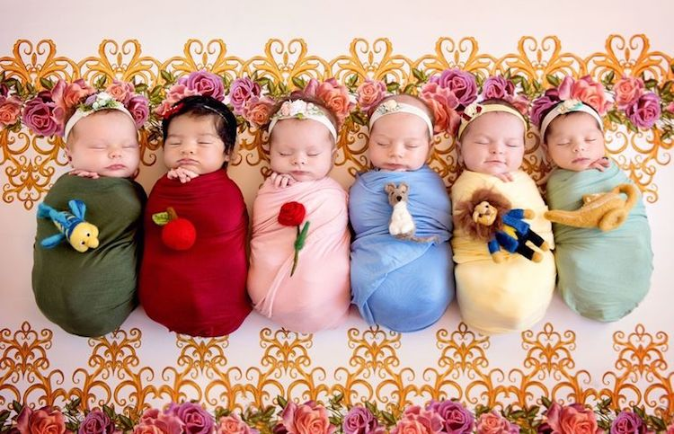Disney Princesses as Babies
