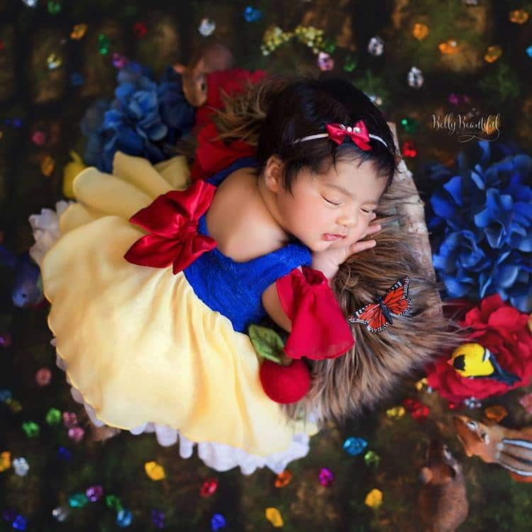 Snow White Disney Princess Photo Shoot Belly Beautiful Portraits