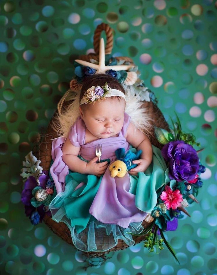 Ariel Disney Princesses as Babies