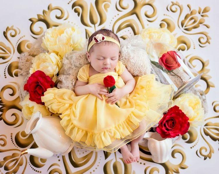 Disney Princesses as Babies