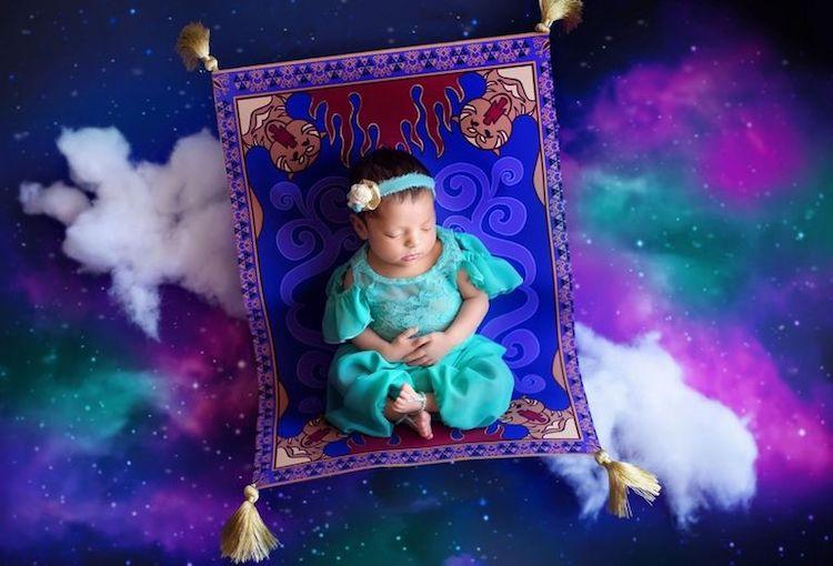 Aladdin Disney Princesses as Babies