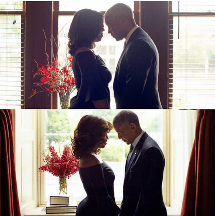 Barack and Michelle Obama Engagement Photos Obama Love Story Natasha Herbert