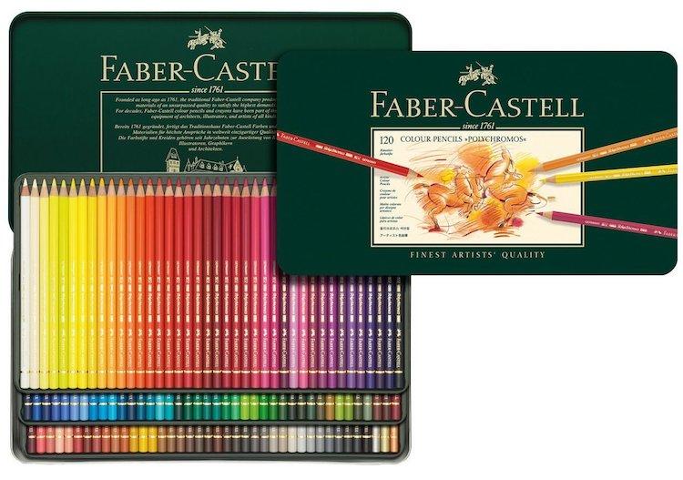 Les meilleurs crayons de couleur pour les artistes