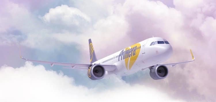 Primera Air Cheap Flights to Europe London Paris