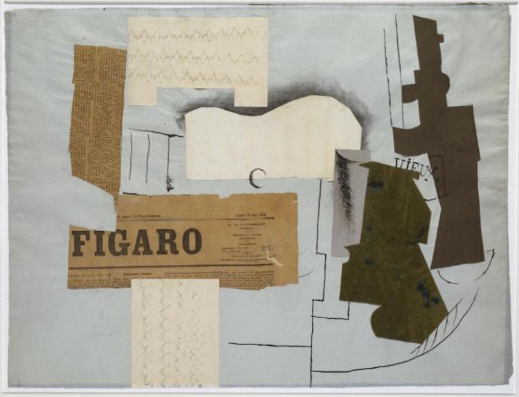 Collage Art Collage History Cubism Cubist Collage