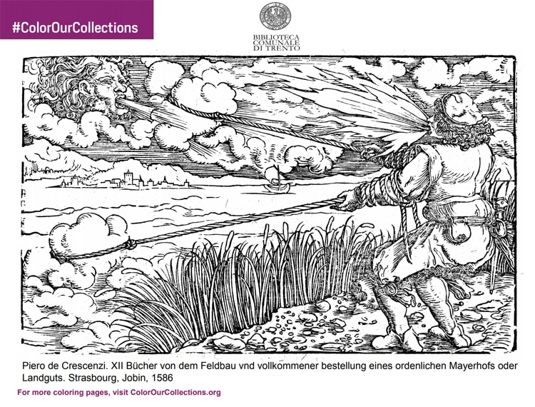 Free Coloring Pages From 100+ Museums by Color Our Collections
