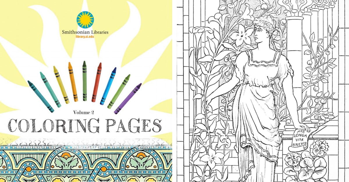 Free Coloring Pages From 100 Museums