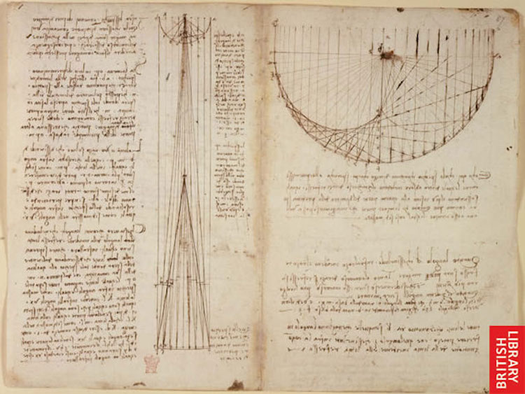 da vinci notebook online codex arundel