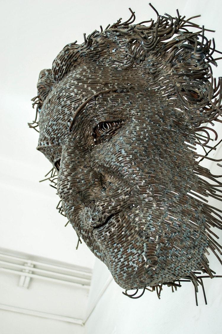 contemporary wire sculpture darius hulea