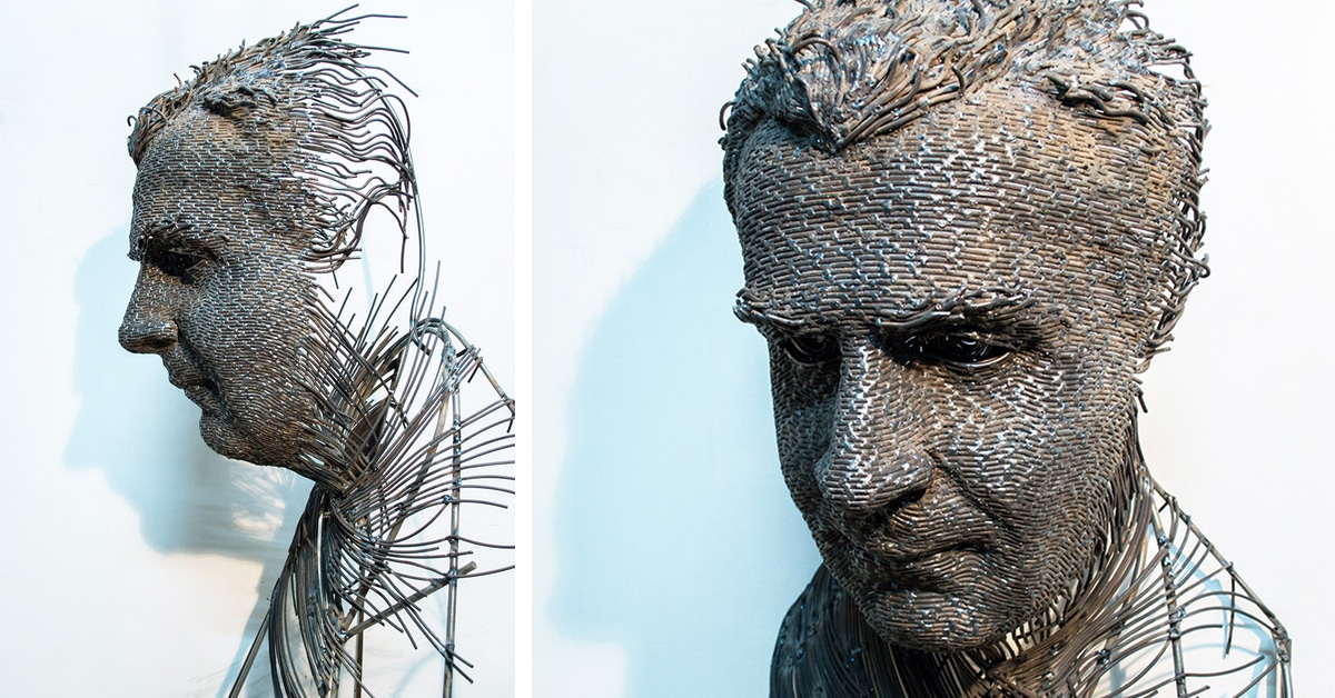 Wire Sculpture By Darius Hulea Is A Modern Twist On The
