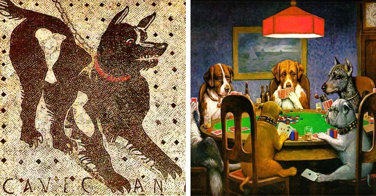 Dog Modeling Agency >> The History of Dog Art From the Ancient Past to the Present