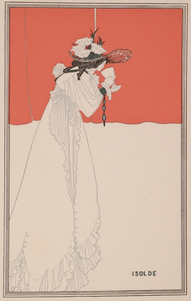 Aubrey Beardsley - Isolde europeana collection